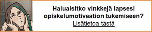 Opi tukemaan motivaatiota
